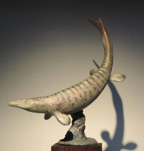 dinosaur.Clidastes.mosasaurus.art.model.1